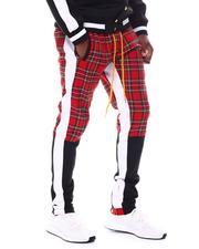MSTKN - Twitch moto pants plaid-2543361