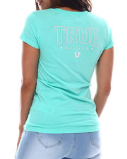 True Religion - Logo V Neck-2540544