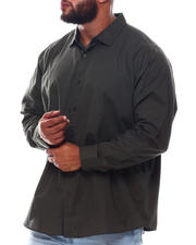 Button-downs - L/S Solid Woven (B&T)-2543295