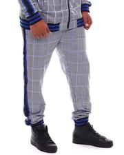Pants - Tartan Plaid Track Pants (B&T)-2543327