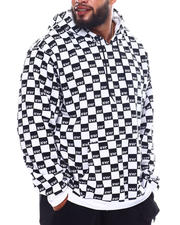 Hoodies - NYC All Over Print Checker Hoodie (B&T)-2543513