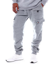 Akademiks - Cargo Pocket Fleece Sweatpants (B&T)-2543783