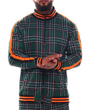 Outerwear - Plaid Track Jacket (B&T)-2543303