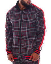 Outerwear - Plaid Track Jacket (B&T)-2543319