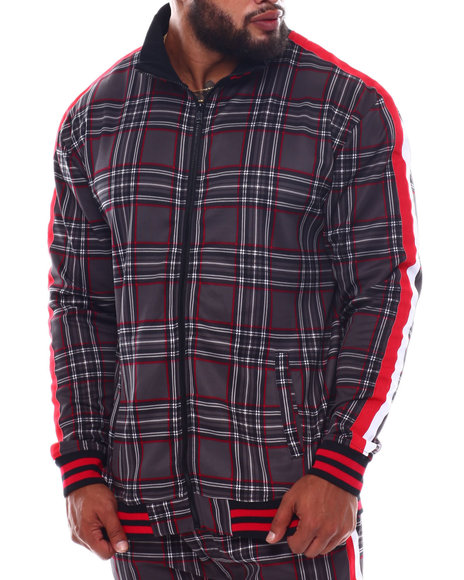 Rebel Minds - Plaid Track Jacket (B&T)