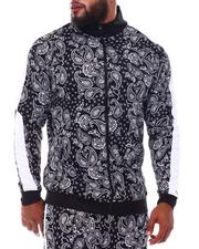 Outerwear - Paisley Track Jacket (B&T)-2543307
