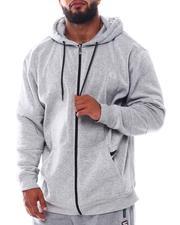 Hoodies - Full Zip Hoodie With Zipper Pockets (B&T)-2543625