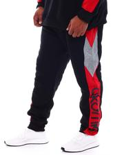 Sweatpants - Color Block Fleece Sweatpants (B&T)-2543684