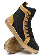 AURELIO GARCIA - Two Tone Fashion Hi Top Sneakers-2543406