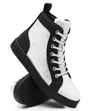 AURELIO GARCIA - Two Tone Fashion Hi Top Sneakers-2543414