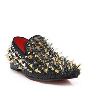 Shoes - Spiked Loafers-2543443