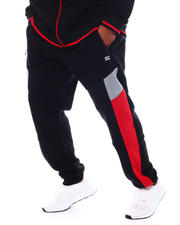 Akademiks - Colorblock Fleece Sweatpants (B&T)-2543662