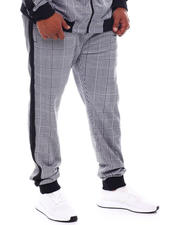 Pants - Tartan Plaid Track Pants (B&T)-2543331