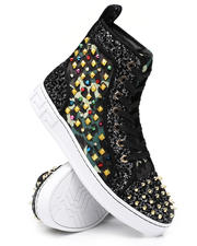 AURELIO GARCIA - Multi Colored Embellished Hi Top Sneakers-2543378