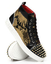 Fall-Winter - Sequin Studded Mid Sneakers-2543436