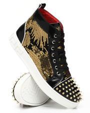 AURELIO GARCIA - Sequin Studded Mid Sneakers-2543436