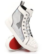 Fall-Winter - Spiked Capped Toe Hi Top Sneakers-2543392