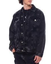 Denim Jackets - Rip and Repair Denim Jacket-2542425