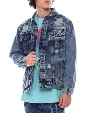 Denim Jackets - Rip and Repair Denim Jacket-2542408