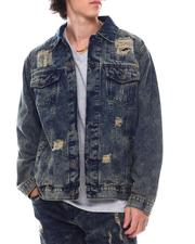 Denim Jackets - Rip and Repair Denim Jacket-2542465