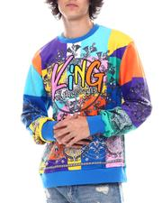 SWITCH - King Bandana Velour Sweatshirt-2542548