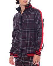 Track Jackets - Window Pane Plaid Track jacket-2542917