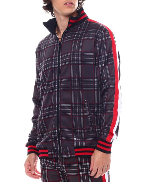 Buyers Picks - Window Pane Plaid Track jacket