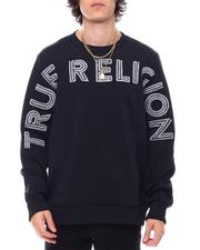 Sweatshirts & Sweaters - LS HS FASHION CREWNECK PULL OVER-2543128