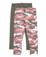 Girls - Leggings Twin Pack (2T-4T)-2541490