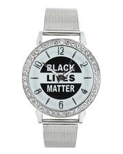 Accessories - Black Lives Matter Iced Watch (Unisex)-2543374