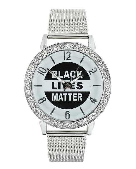 Buyers Picks - Black Lives Matter Iced Watch (Unisex)