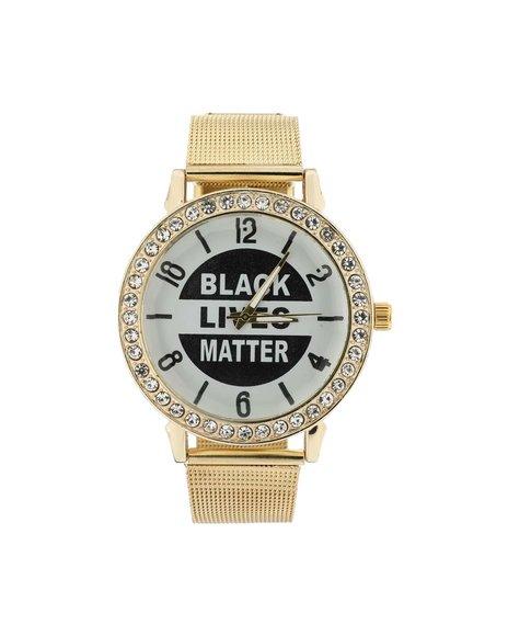 Buyers Picks - Black Lives Matter Iced Watch (Unisex)