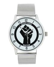 Accessories - Black Lives Matter Mesh Watch (Unisex)-2543376