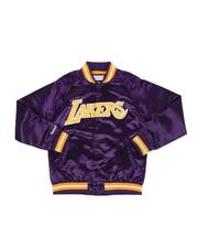 Sizes 8-20 - Big Kids - Los Angeles Lakers Lightweight Satin Jacket (8-20)-2543492