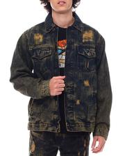Denim Jackets - Rip and Repair Denim Jacket-2542436