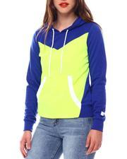 Fashion Lab - Color Block Tech Fleece Pullover-2543771