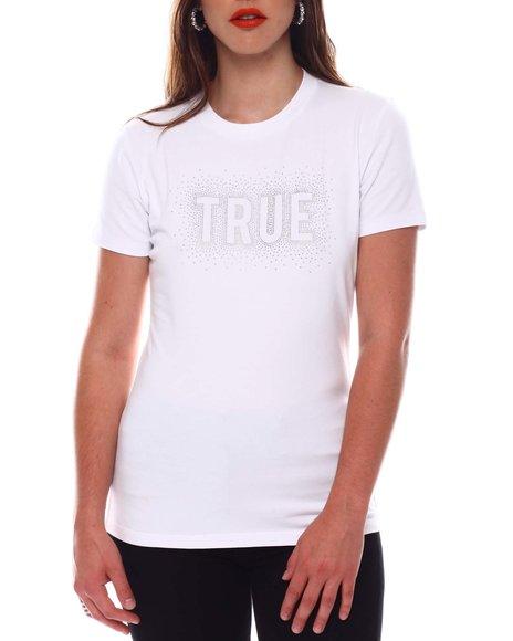True Religion - SS Logo Slim Crew