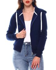 Fashion Lab - Basic Hoodie Jacket-2543860