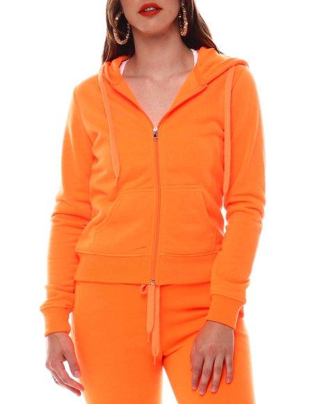 Fashion Lab - Neon Fleece Hoodie Jacket