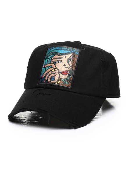 Buyers Picks - Babe with Green Hair Dad Hat (Unisex)
