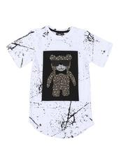 Boys - Cut And Sew Splatter Tee (6-20)-2544450