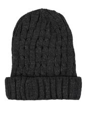 Hats - Thin Cable Knit Beanie-2544711