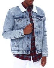 Akademiks - Full Sherpa Denim Jacket-2545793