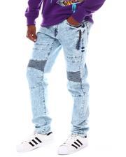 Akademiks - Side Zipper Moto Jean-2545754