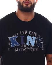 AKOO - King Denim Applique Knit Tee (B&T)-2545934