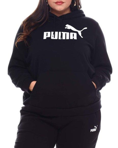 Puma - Ess Logo Hoody FL (Plus)