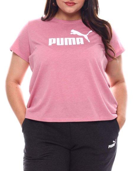 Puma - Ess+ Heather Tee (Plus)