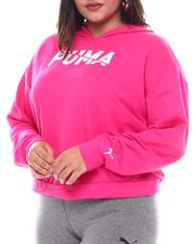 Plus Size - Modern Sports Hoody (Plus)-2545744