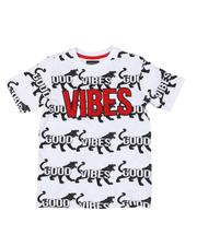 Arcade Styles - Good Vibes Tiger AOP Tee (8-20)-2546438
