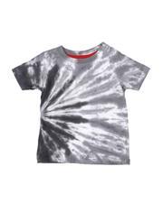 T-Shirts - Rebel Tie Dye Tee W/ Rhinestones (4-7)-2546314